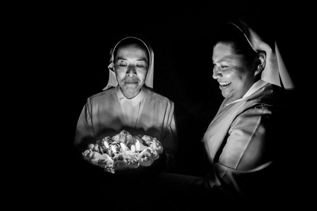 Suor Beatriz festeggia i suoi trent'anni (Courtesy: Valeria Luongo)