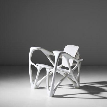"Joris Laarman, ""Bone"" armchair, 2008. Courtesy Phillips"