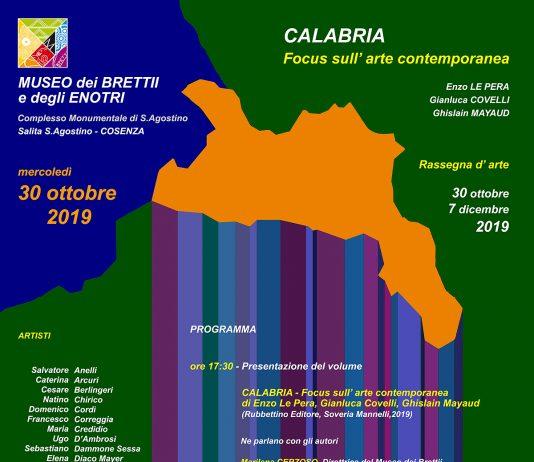 Calabria – Focus sull'Arte contemporanea