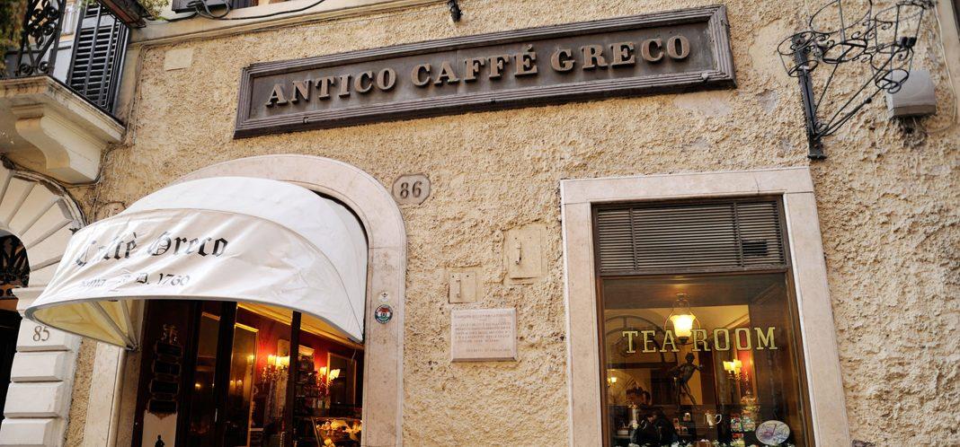 L'antico caffè greco sotto sfratto