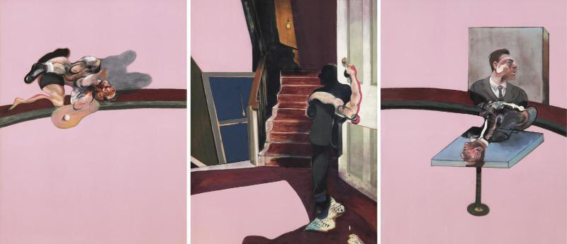 Un'opera di Francis Bacon in mostra al Centre Pompidou