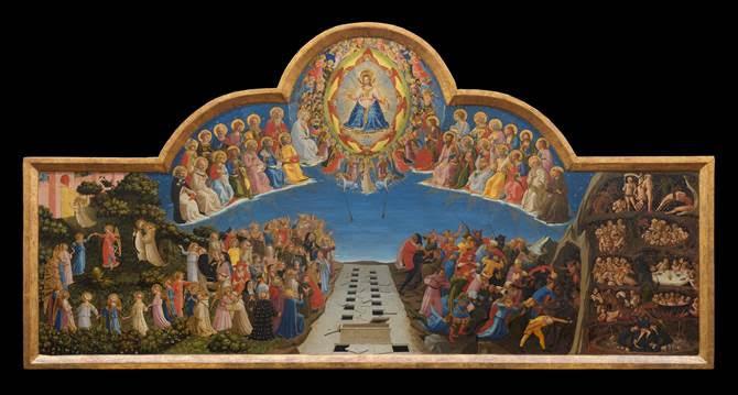 Il Giudizio Universale del Beato Angelico