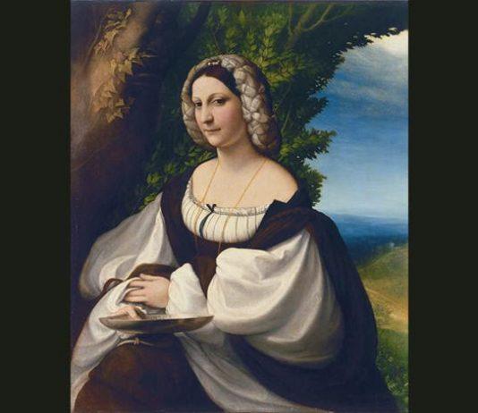 Ritratto di Giovane donna del Correggio. Un capolavoro dal Museo Ermitage di San Pietroburgo