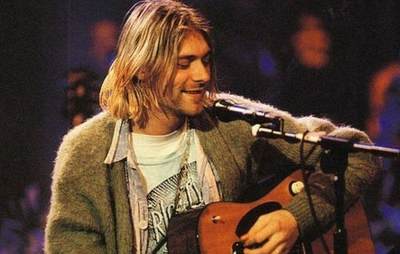 Cobain MTV cardigan