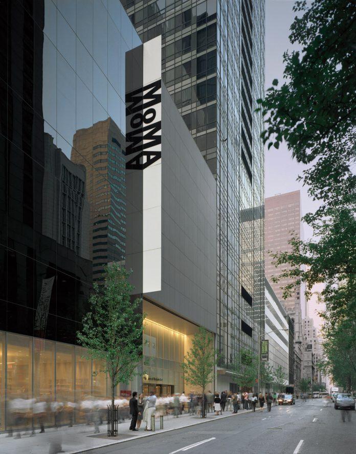 Il MoMA di New York, così come ci siamo abituati a vederlo dall'esterno. L'interno si presenta con un aspetto tutto nuovo.