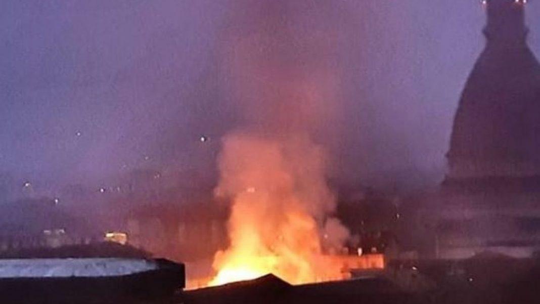 Incendio alla Cavallerizza di Torino