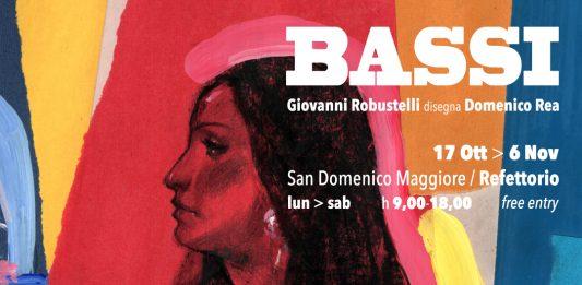 Bassi – Giovanni Robustelli disegna Domenico Rea
