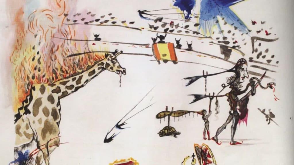 L'opera di Dalì rubata a San Francisco