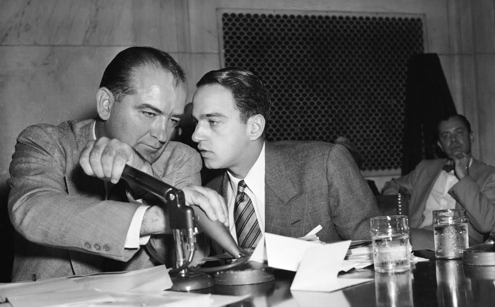 Roy Cohn e Joseph McCarthy