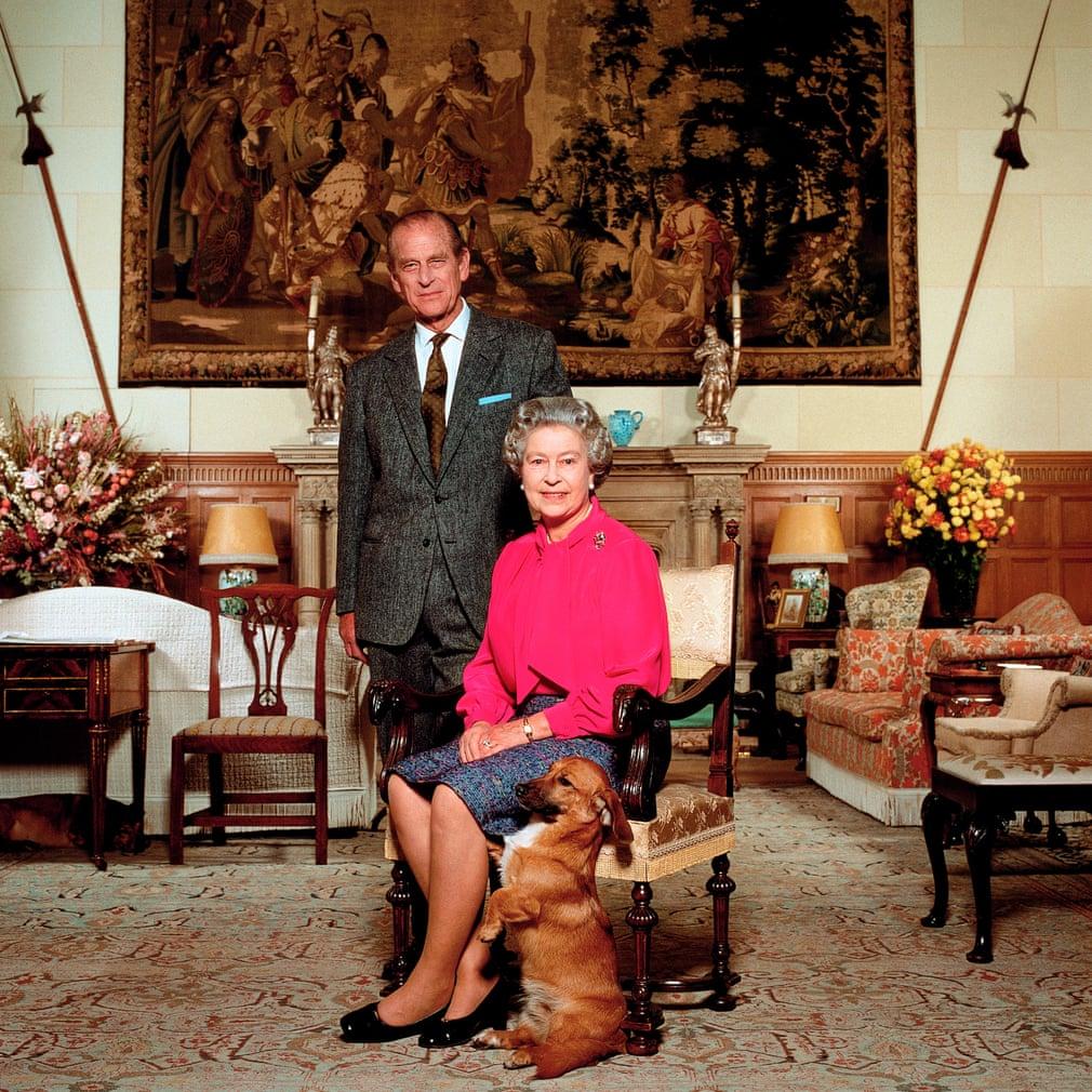 La regina Elisabetta e il principe Filippo, 1992