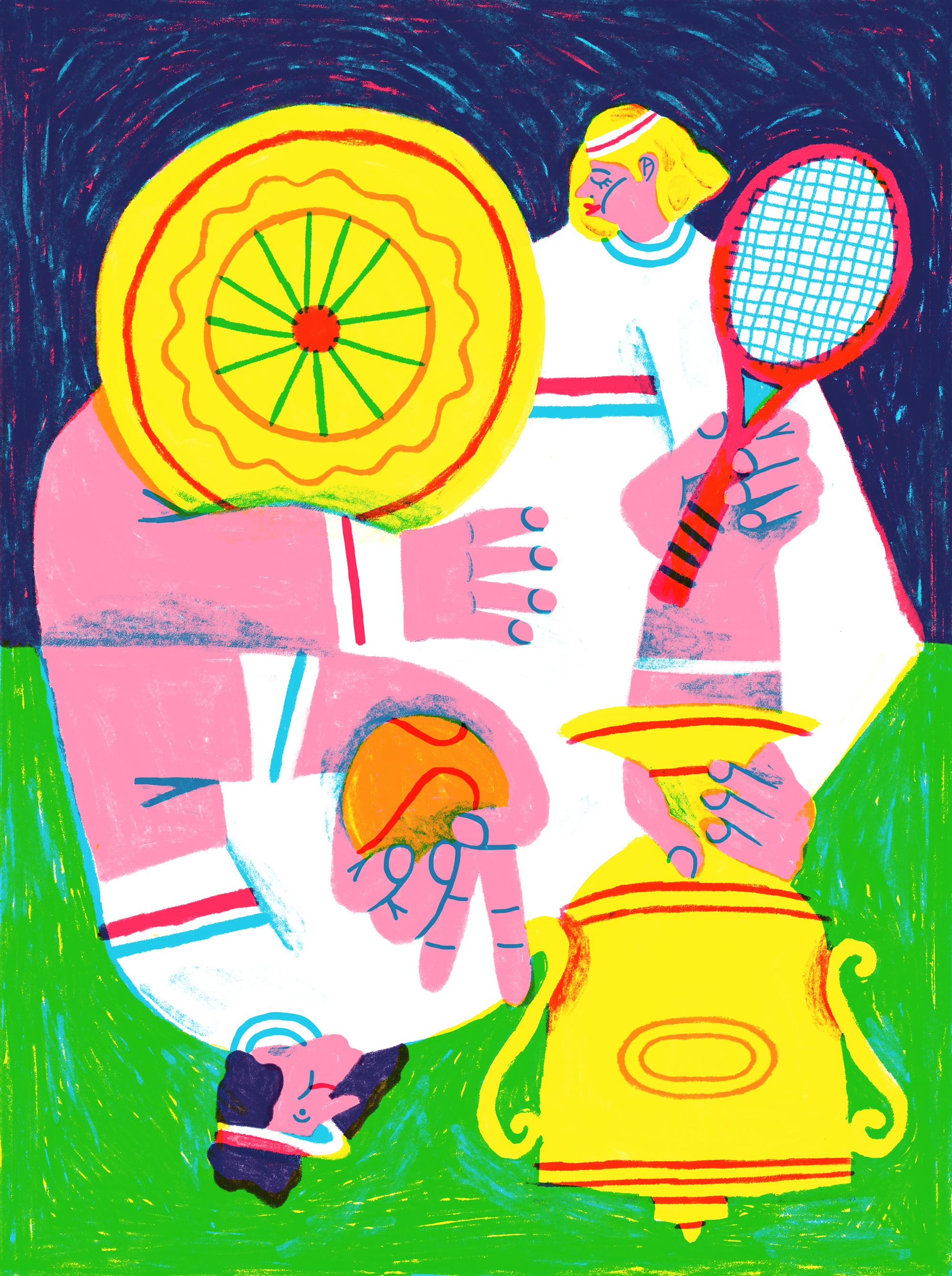 Alice Piaggio - Wimbledon, Rivista Undici