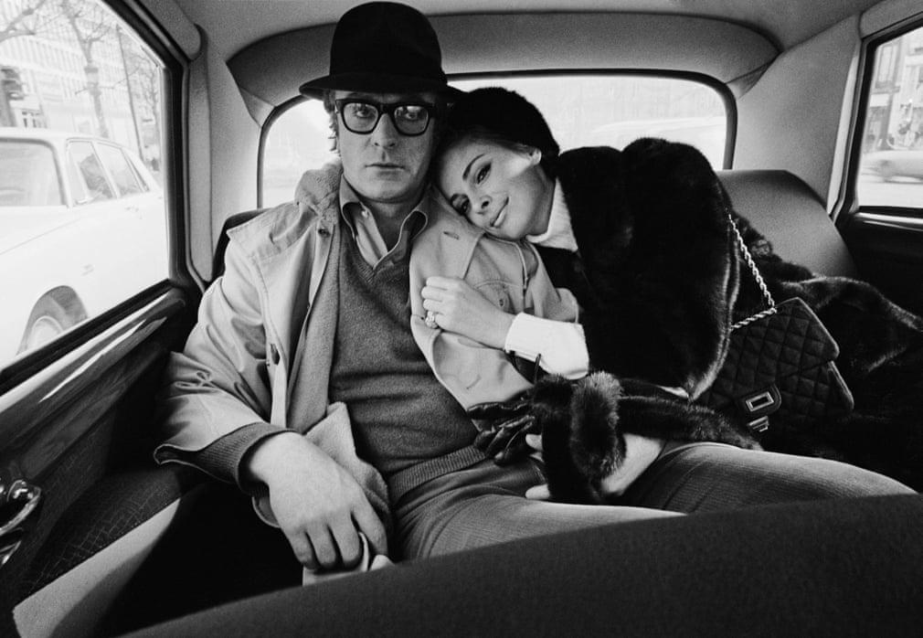 Michael Caine e Camilla Sparv, 1966