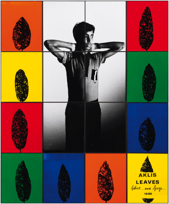 Gilbert & George Aklis Leaves, 1980 242 x 202 cm