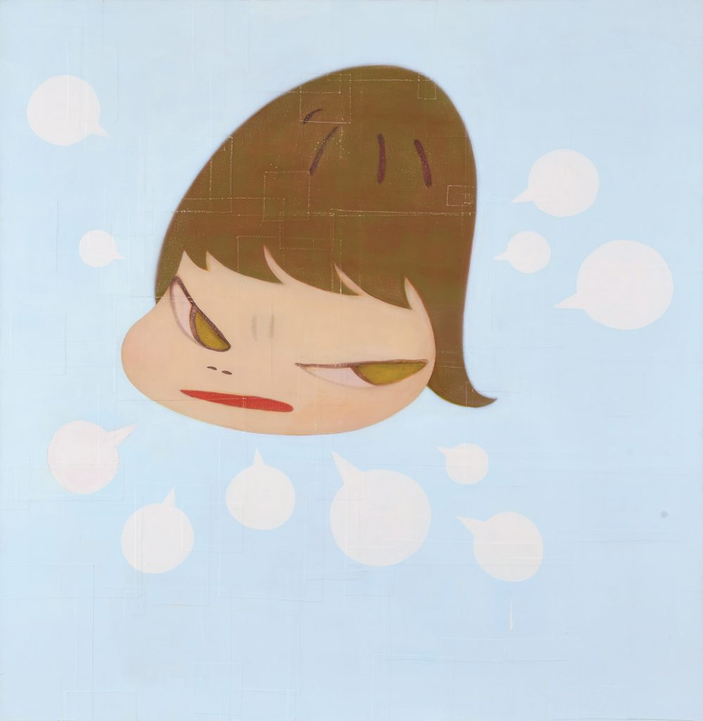 """Yoshitomo Nara, """"Angry Blue Boy"""", 2008"""