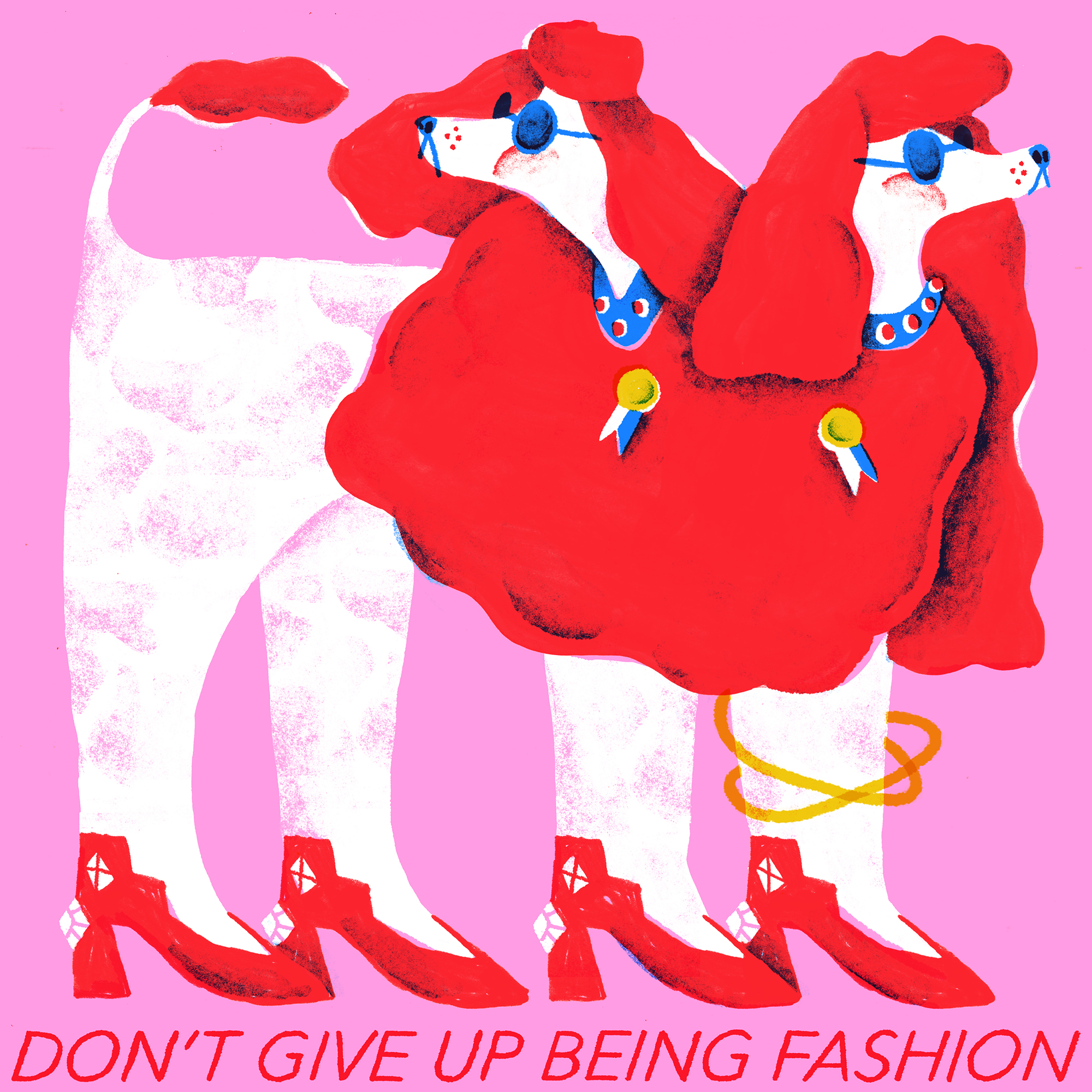 Alice Piaggio, Don't give up being fashion
