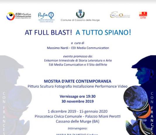 At Full Blast! A Tutto Spiano !