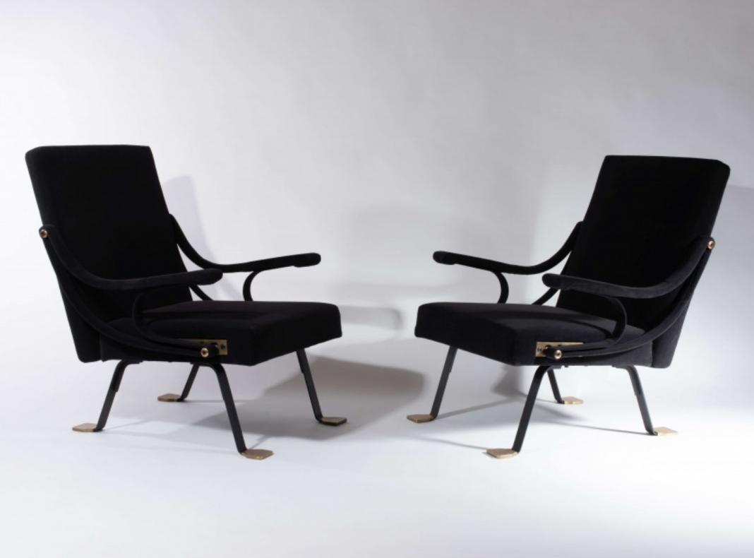 Igniazio Gardella, coppia di sedie