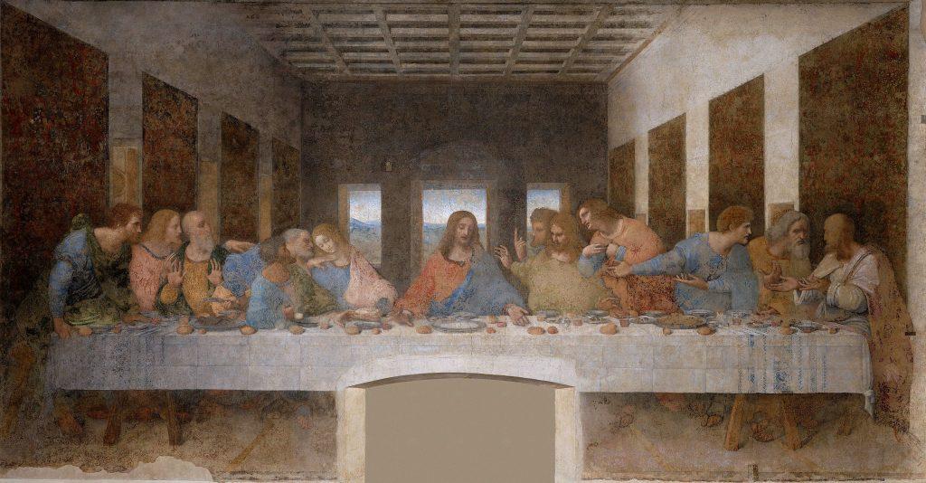 Leonardo da Vinci, L'Ultima Cena, 1495-1498