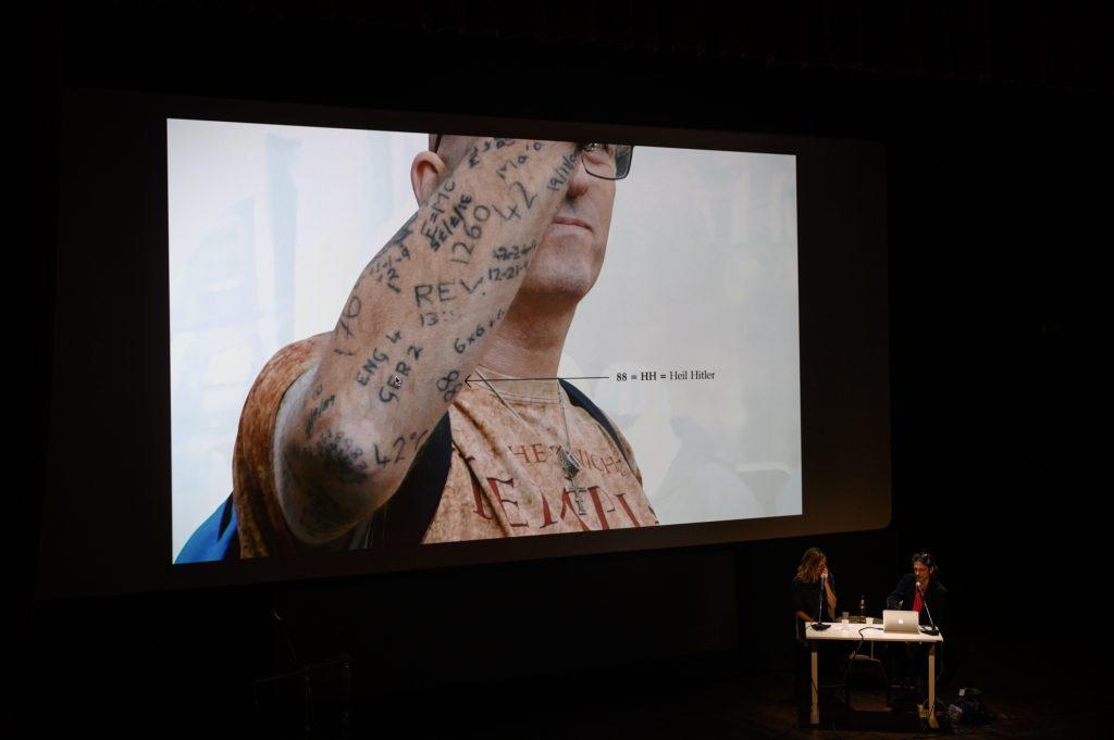 Jeremy Deller a Schermo dell'arte 2019 (courtesy Gianmarco Rescigno)