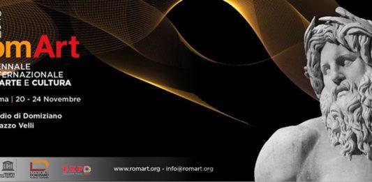 RomArt 2019. Biennale Internazionale di Arte e Cultura