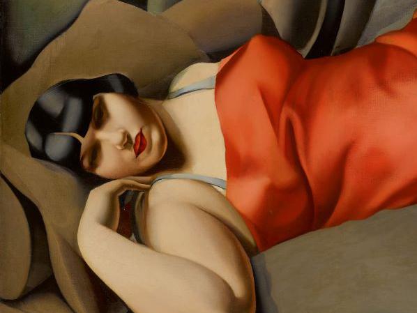 Tamara de Lempicka record Sotheby's.