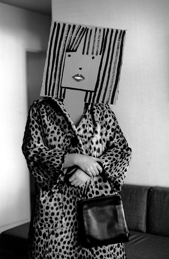 USA. Untitled. From the Mask Series with Saul Steinberg. 1961.
