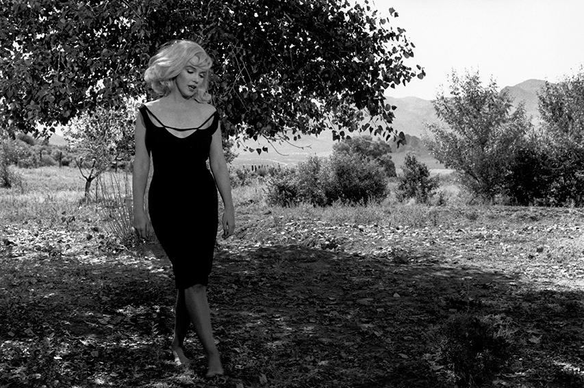 "Reno, Nevada. 1960. Set of ""The Misfits"". Marilyn MONROE."