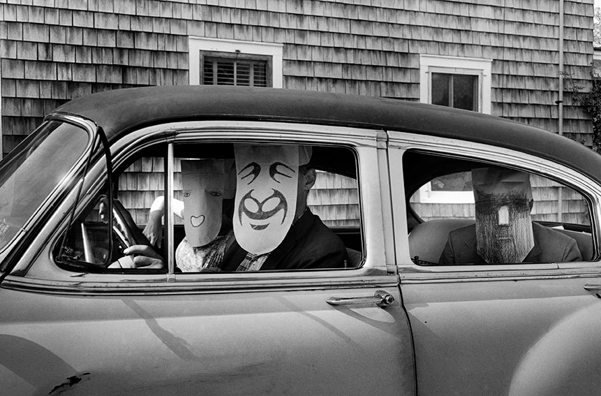 Untitled. (from the Mask Series with Saul Steinberg), 1962.