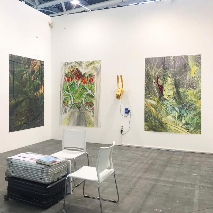 Issues Gallery Stoccolma, vista dello stand ad Artissima 2019