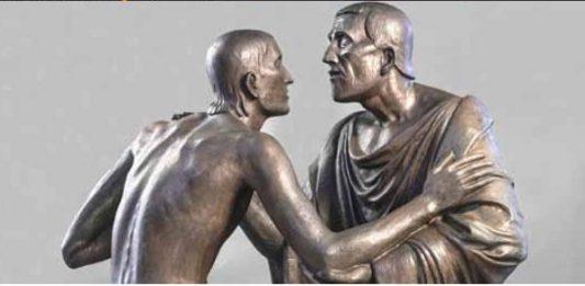 Incontro e abbraccio nella Scultura del Novecento da Rodin a Mitoraj