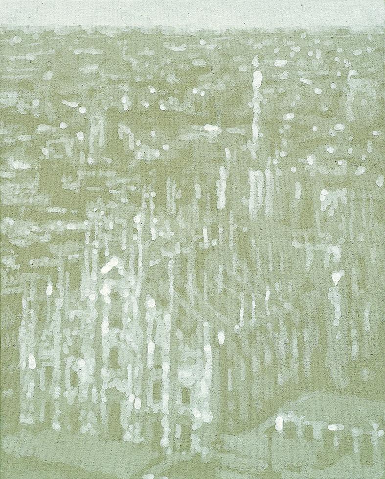 Fuori Registro (Duomo2) 2019 acrilico su tela, cm50x40