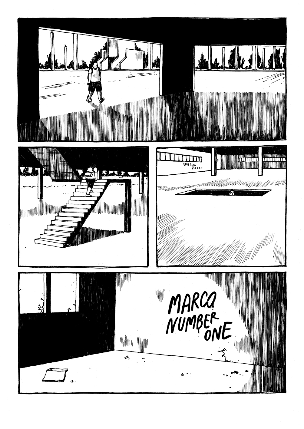 Malibu è il fumetto di Eliana Albertini uscito a settembre 2019 per Becco Giallo editore (Courtesy: Eliana Albertini)