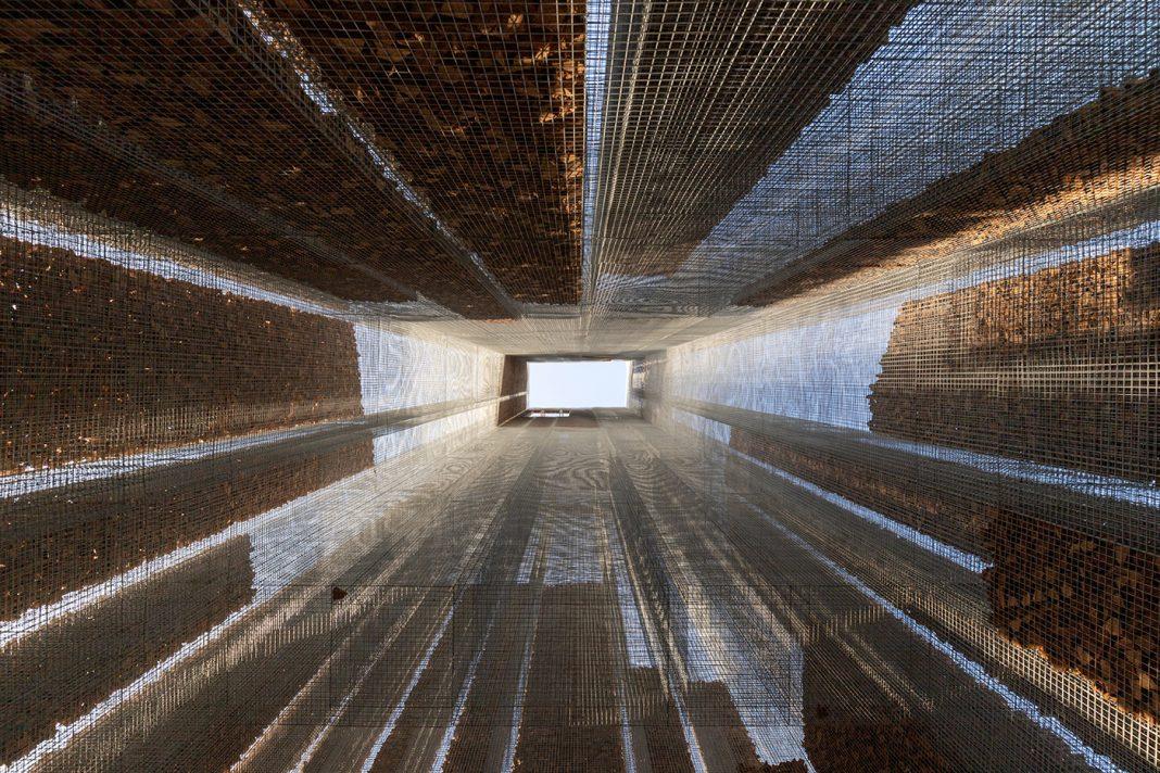 "Edoardo Tresoldi, ""Gharfa"". Realizzata da Studio Studio Studio a Riyadh, Arabia Saudita. © Roberto Conte"