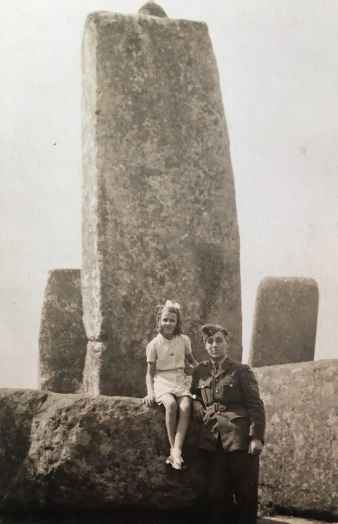 Stonehenge, 1941