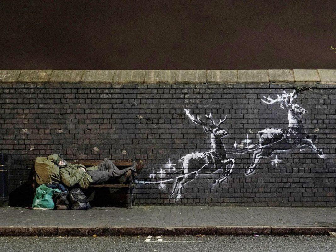 Il nuovo murales di Banksy a Birmingham