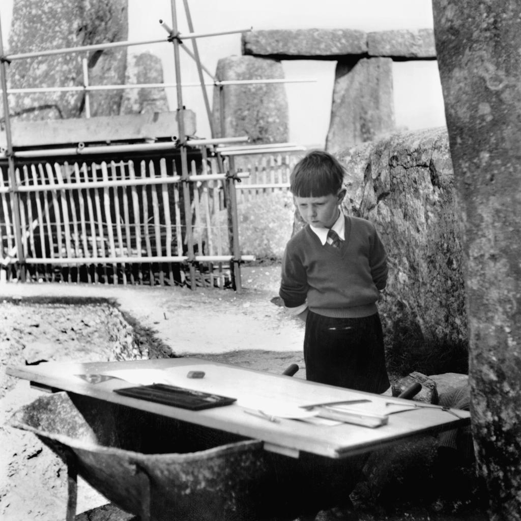 Stonehenge, 1958