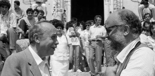 Angelo Pitrone– Leonardo Sciascia. Quasi guardandosi in uno specchio