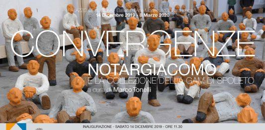 Convergenze. Notargiacomo e la collezione della GAM di Spoleto