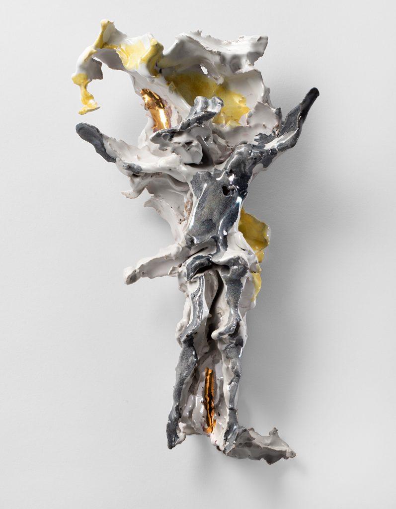 """Lucio Fontana, """"Crocefisso"""", 1950-55"""