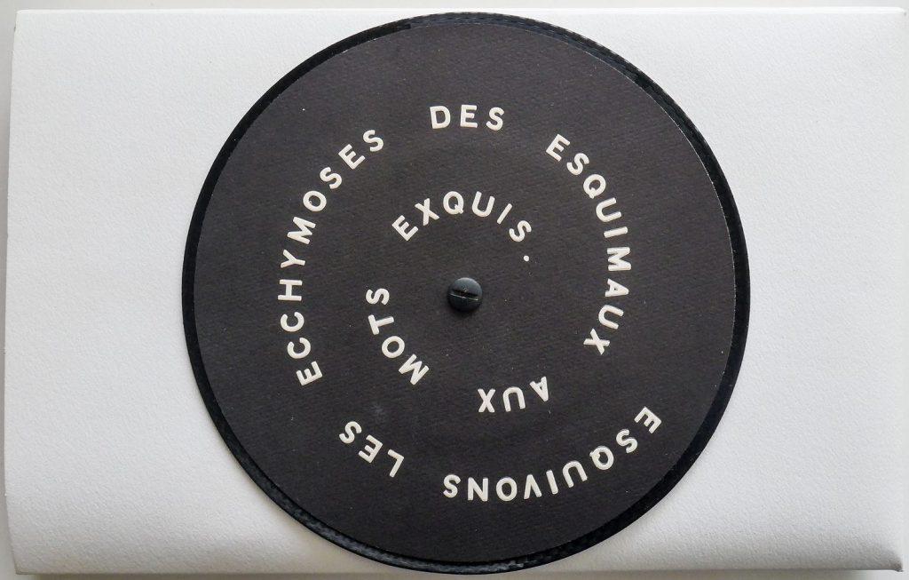 """Marcel Duchamp, """"Esquivons Les Ecchymoses des Esquimaux aux Mots Exquis"""", 1968. Courtesy of Catawiki"""