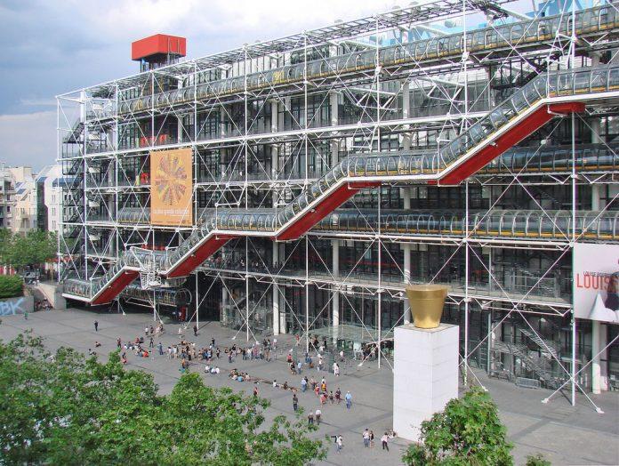 Il Centre Pompidou, sede del Prix Marcel Duchamp 2020