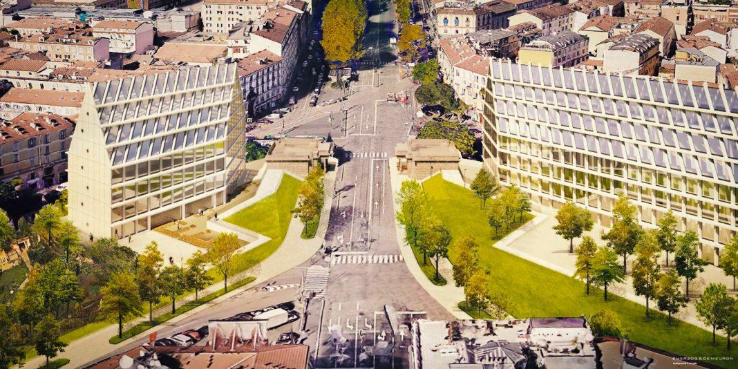 Rendering del Museo della Resistenza a Milano