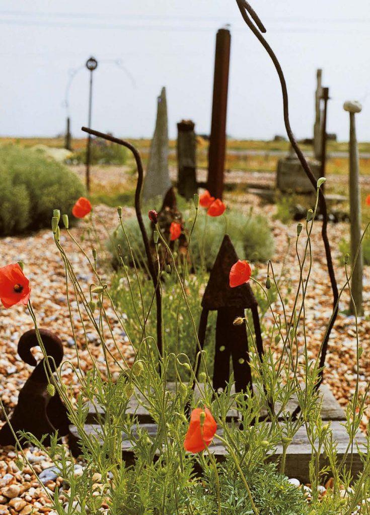 Il giardino di Derek Jarman, Dungeness. © 1995 Howard Sooley