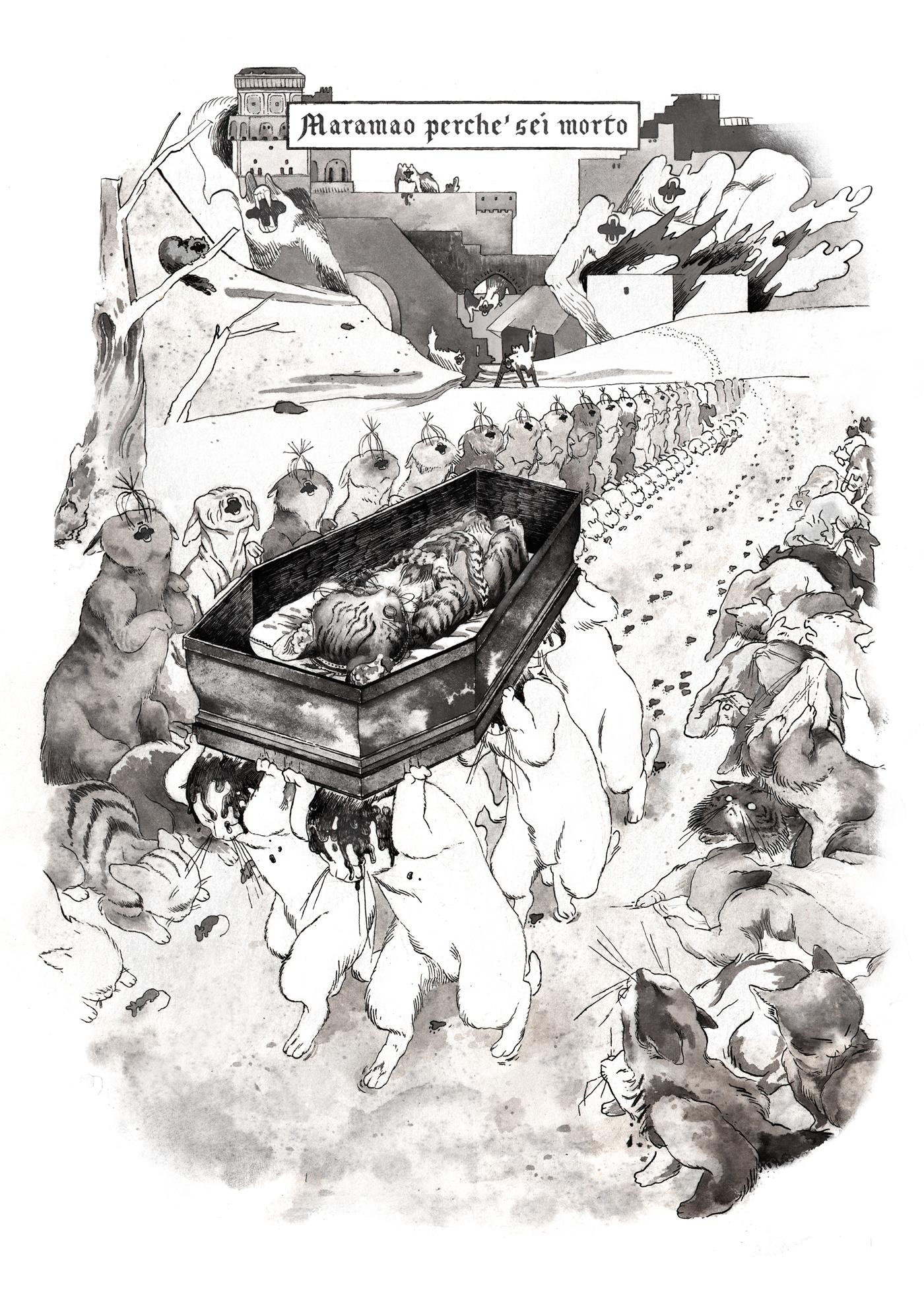 """Margherita Morotti - estratto da """"Maramao perchè sei morto"""", Frankenstein Magazine 1"""