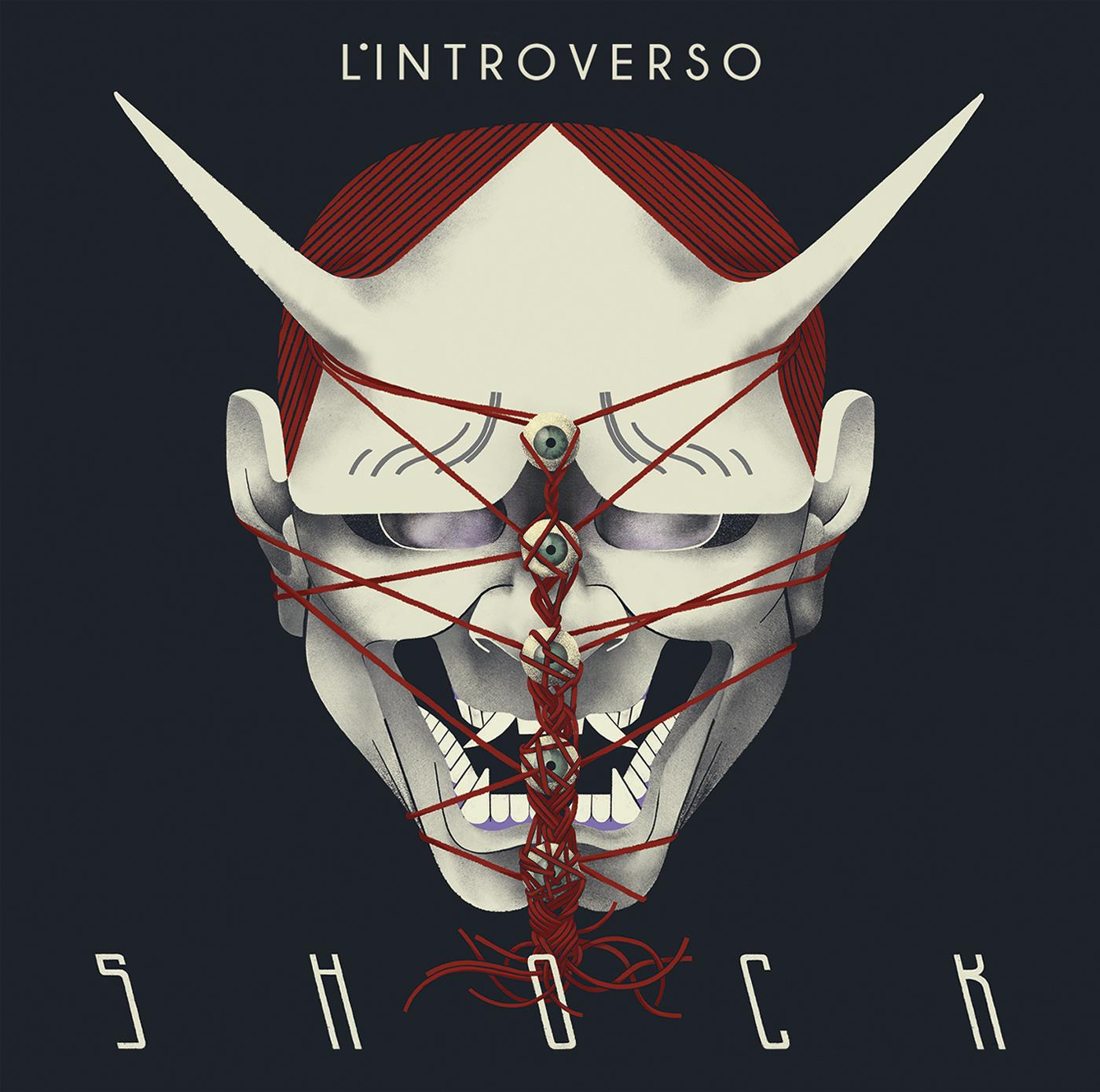 Margherita Morotti -cover artwork per Shock, secondo album de L' Introverso