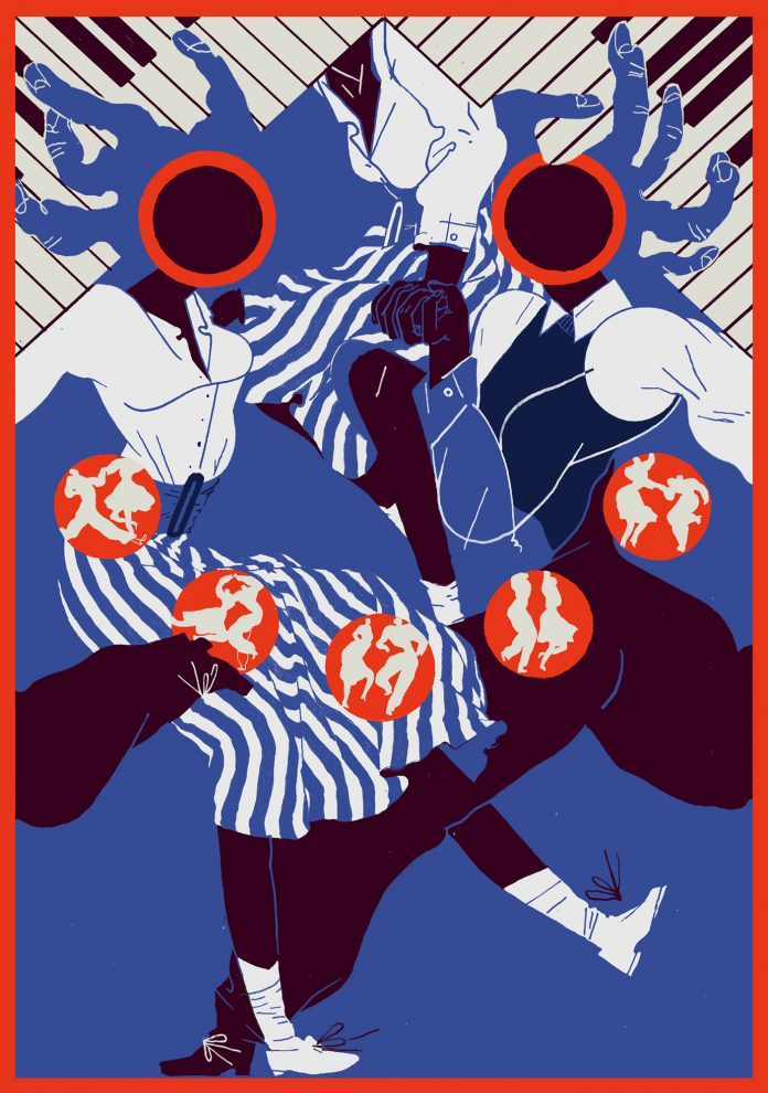 Margherita Morotti - Swing, da Let's Dance!, mostra collettiva a cura di Le Vanvere
