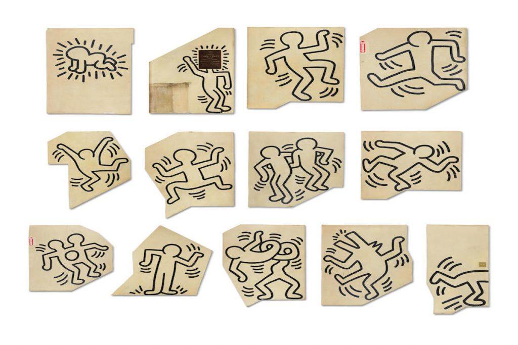 Keith Haring, il murale staccato e messo all'asta da Bonhams