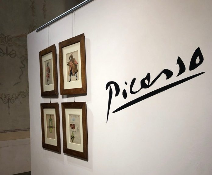 La mostra di Picasso a Cherasco