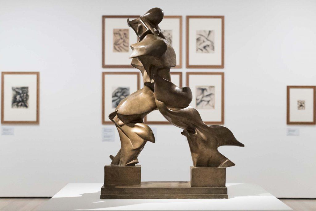 """Umberto Boccioni,""""Forme uniche nella continuità dello spazio"""", 1972"""