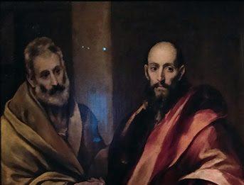 El Greco – Santi Pietro e Paolo